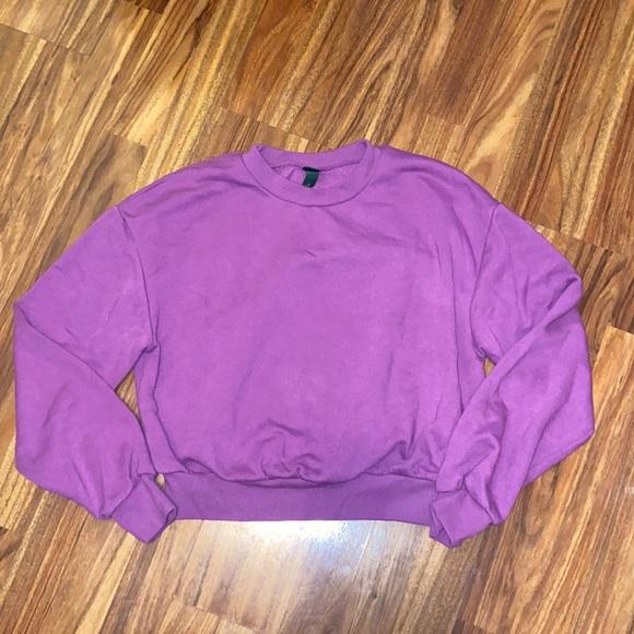 Wild Fable   3 for $25   Cropped Fleece Sweatshirt